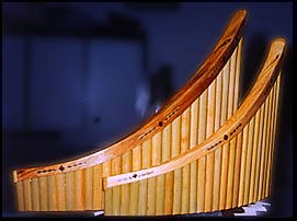 Pan Flutes made by Kevin Budd